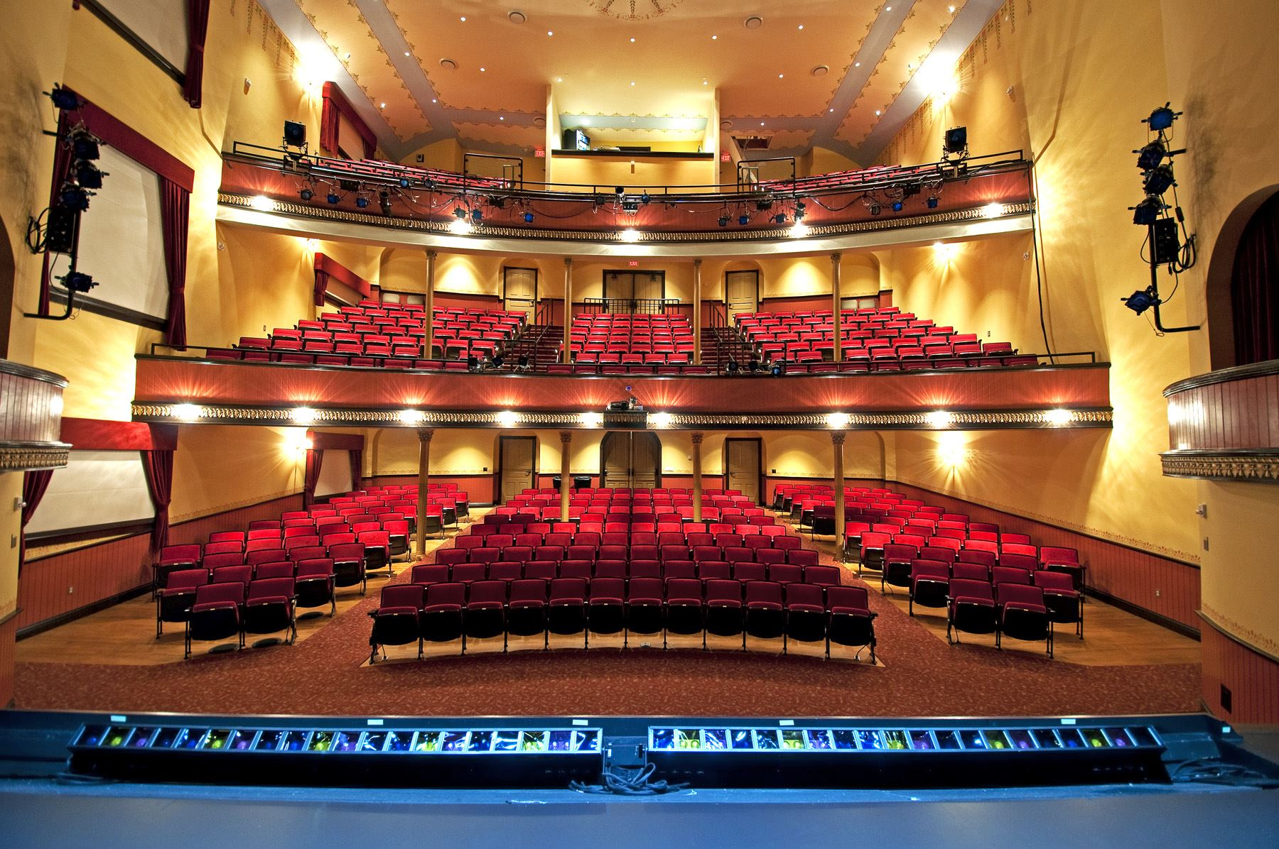 McPherson Opera House Auditorium