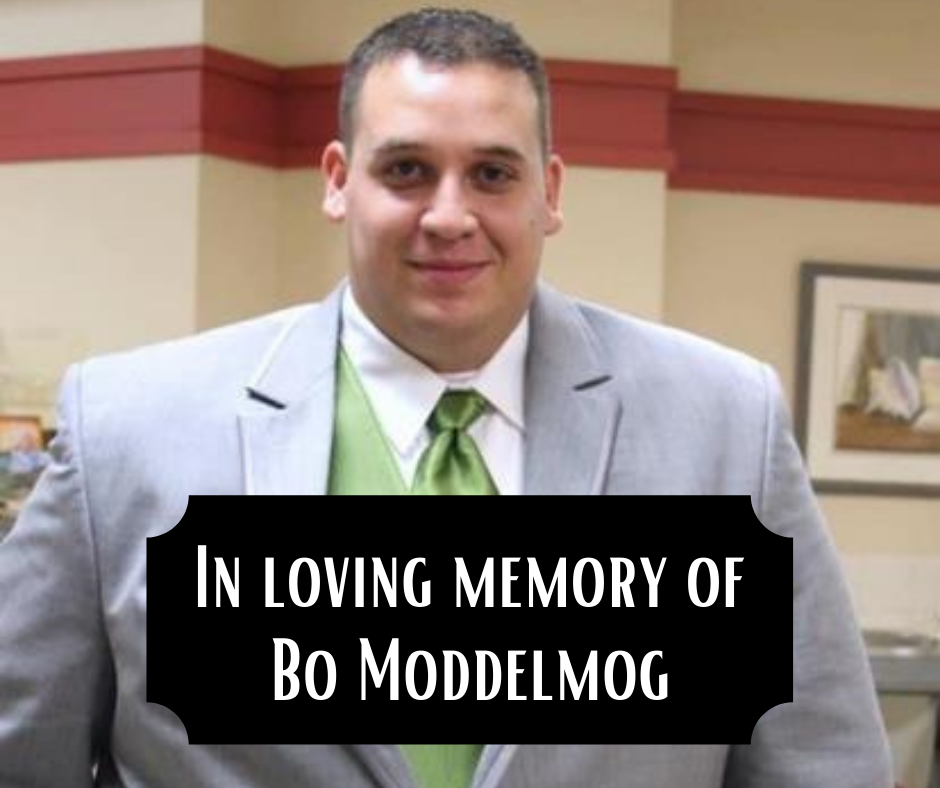 In loving memory of Bo Moddelmog