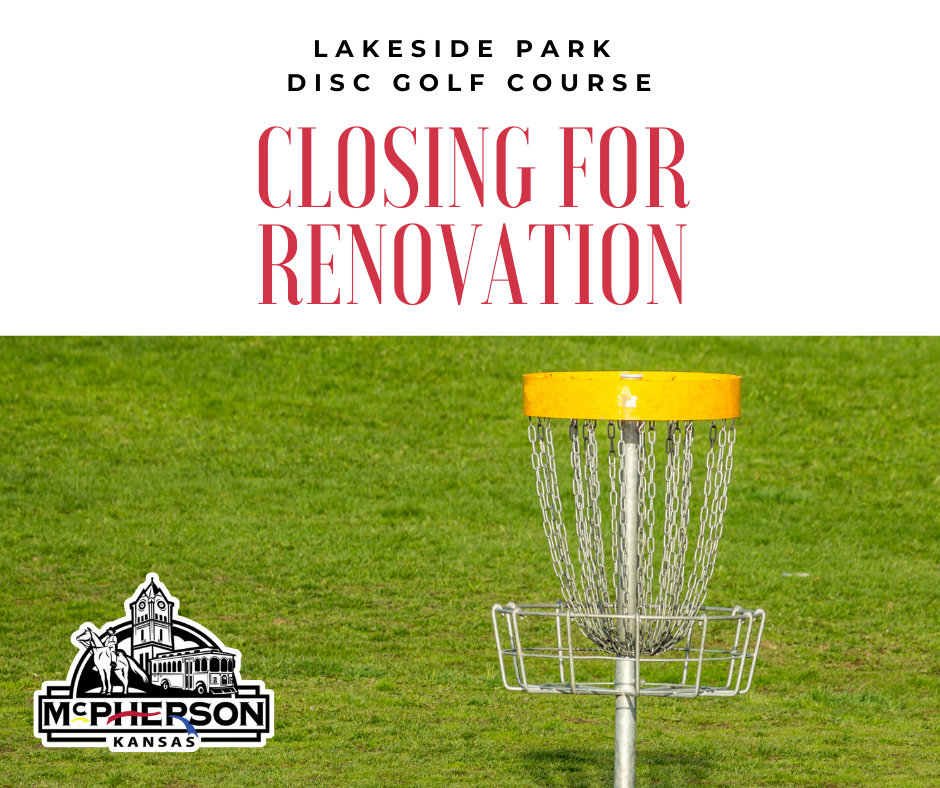 LAKESIDE DISC GOLF COURSE CLOSING FOR RENOVATION photo
